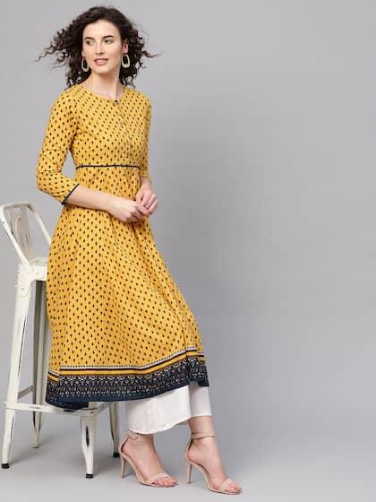 4ced60ce07e A Line Kurtas - Buy A Line Kurtas online in India