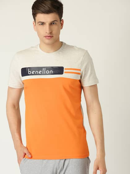 b02fa778c UCB T-shirt - Buy United Colors of Benetton T-shirts for Men   Women