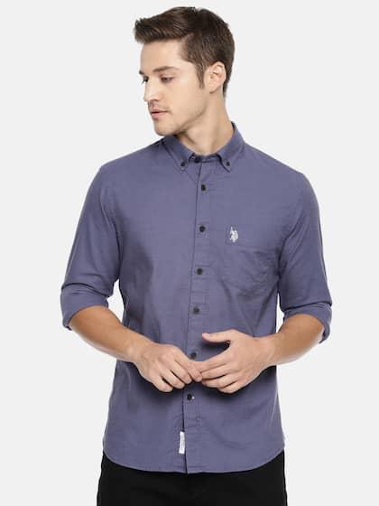 afe7fb00 US Polo Assn Shirts - Buy US Polo Assn Shirt Online   Myntra