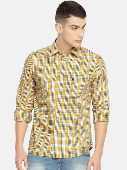 aa750c739d2 U.S. Polo Assn. Men Tailored Fit Casual Shirt