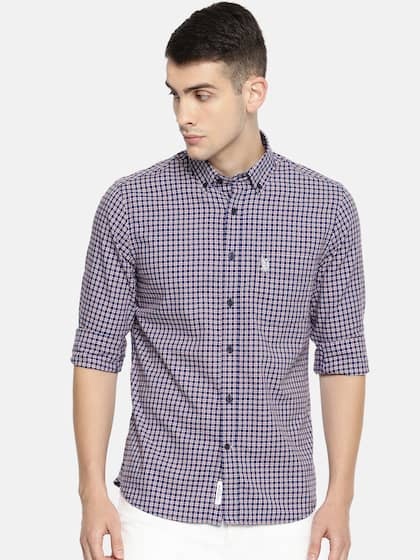22257afda Men Check Shirts - Buy Men Check Shirts online in India