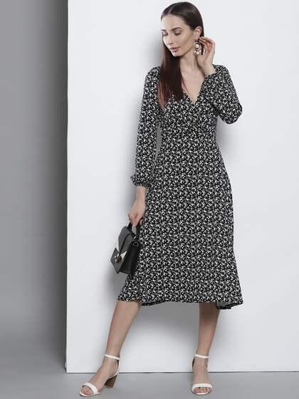 2c978899a3d8 Midi Dresses - Buy Midi Dresses online in India