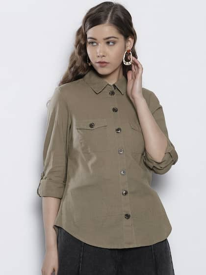 501ad5a1643 Women Shirts - Buy Shirts for Women Online in India