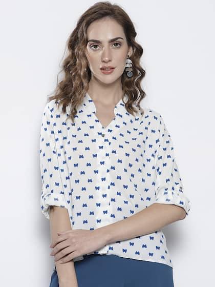 9e464fde4cde Women Shirts - Buy Shirts for Women Online in India | Myntra