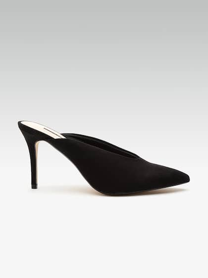 2ad6d78658914 DOROTHY PERKINS Women Black Solid Pumps