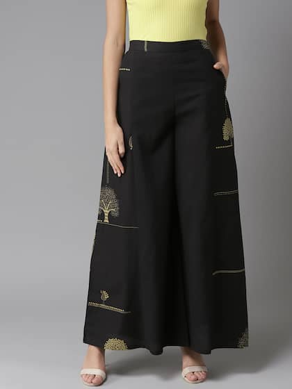 3dc73483533315 Palazzo Pant - Buy Latest Palazzo Pants Online in India | Myntra
