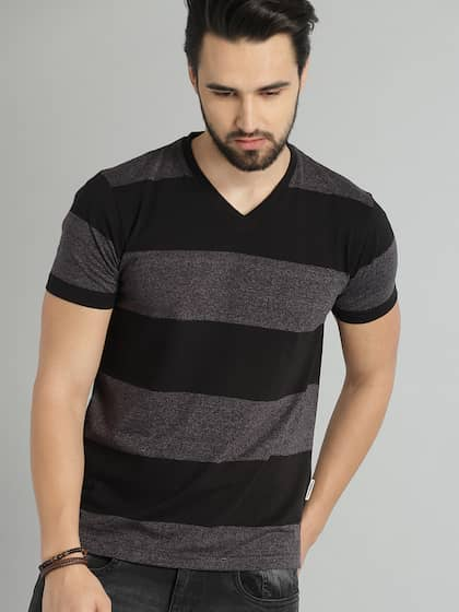 3fa2843c1249 V Neck T-shirt - Buy V Neck T-shirts Online in India   Myntra