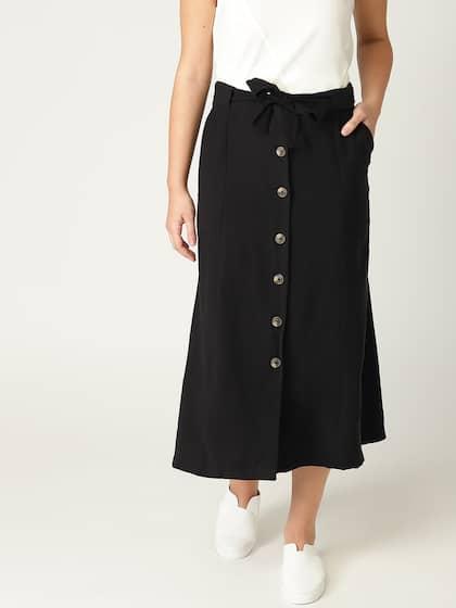 89af686f1 A-Line Skirt - Buy A-Line Skirts for Women & Girls Online | Myntra