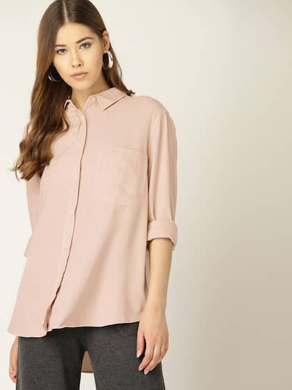 976ad8f35a Women Shirts - Buy Shirts for Women Online in India