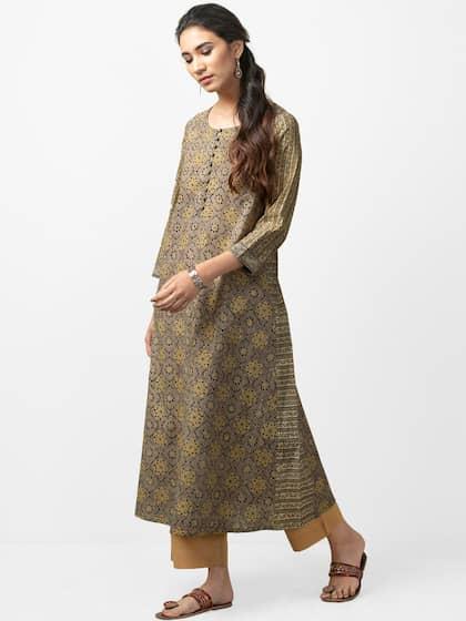 228aa5865 Kurtis Online - Buy Designer Kurtis   Suits for Women - Myntra