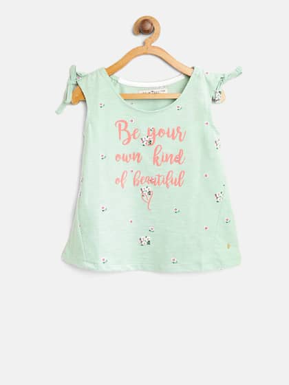303dd6d201c356 Girls Tops - Buy Stylish Top for Girls Online in India