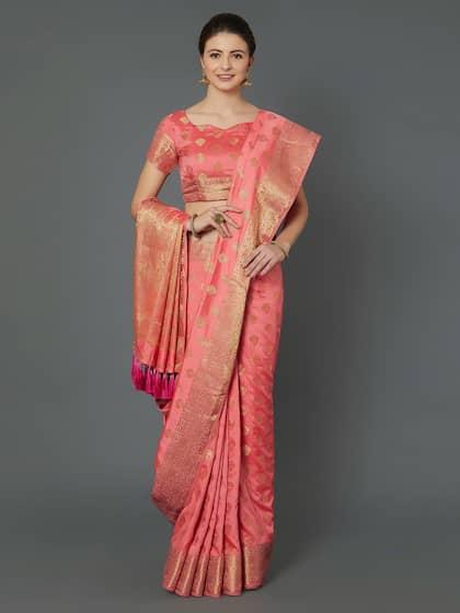 313b1df83bb2e7 Mitera. Woven Design Banarasi Saree