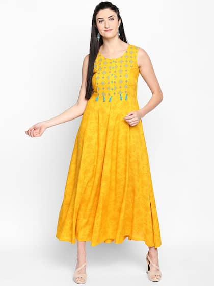 a9803f1e15 Long Dresses - Buy Maxi Dresses for Women Online in India - Upto 70% OFF