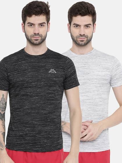 fb7bf2f46ead Kappa T-shirts - Buy Kappa T-shirts Online in India   Myntra