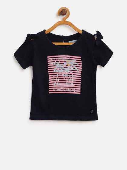 3930cd6d Tops for Girls - Buy Girls Tops & Tshirts Online - Myntra