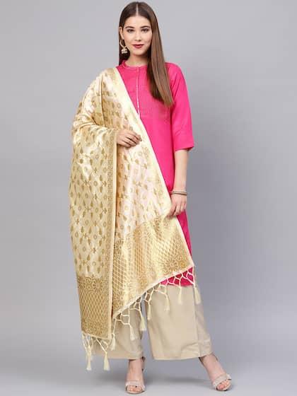 d8b8a7db059 Silk Dupatta - Buy Silk Dupattas online in India | Myntra
