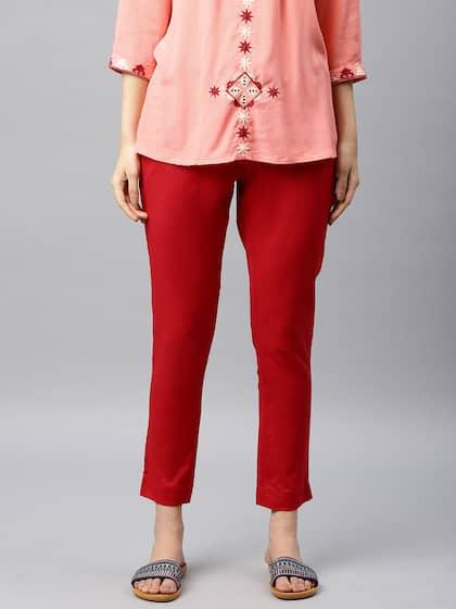 b09181e82a0fbf Cigarette Pants - Buy Cigarette Trousers for Men and Women Online in ...