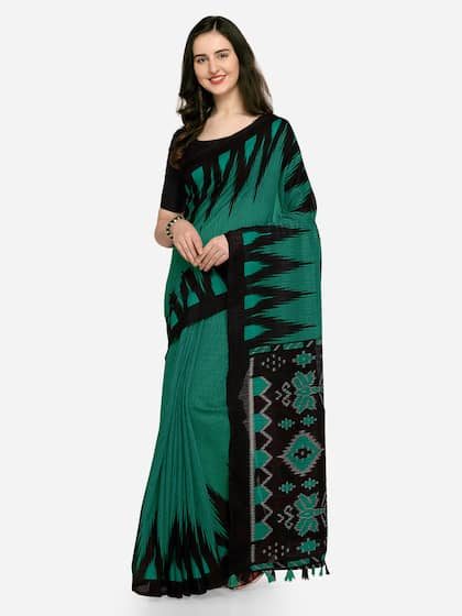 b596a73ae Linen sarees - Buy Linen Saree Online in India