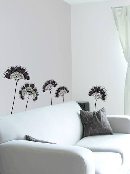 Fantastic Wall Stickers Buy Wall Sticker Online In India Myntra Home Interior And Landscaping Ologienasavecom