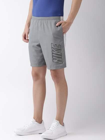 55f2cf85d7a84 Nike Men Grey Printed Standard Fit ACDMY SHORT WP Dri-FIT Football Shorts
