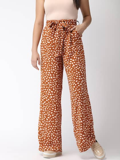 0d0e5f22492 Printed Trousers - Buy Printed Trousers Online in India