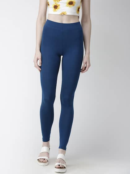39c7bf15248ea9 Blue Leggings - Buy Blue Leggings Online in India