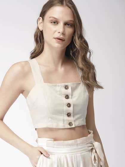 24902c2c425c08 Crop Tops - Buy Crop Tops Online - Myntra