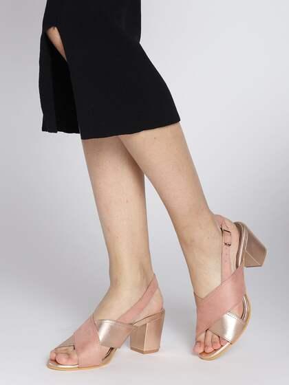 ac93d7df5ac Gold Heels | Buy Gold Heels Online in India at Best Price