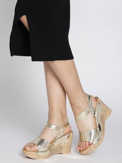 9ce6a9d141 Heels Online - Buy High Heels, Pencil Heels Sandals Online   Myntra