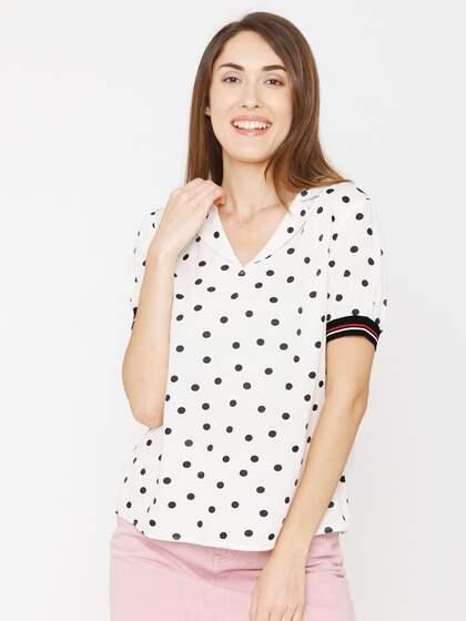 c753225b06d689 Vero Moda Tops | Buy Vero Moda Tops for Women Online in India at ...