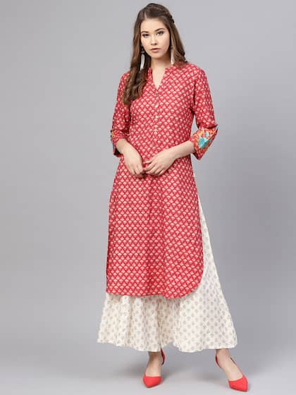 2eb1b3cff9 High Slit Kurta - Buy High Slit Kurtas Online in India at Myntra
