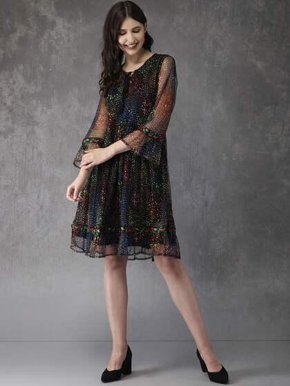 cf352e647e26 Dresses - Buy Western Dresses for Women & Girls   Myntra
