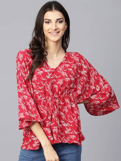 86c355cb6e255 Red Top - Buy Red Tops Online at Best Price in India