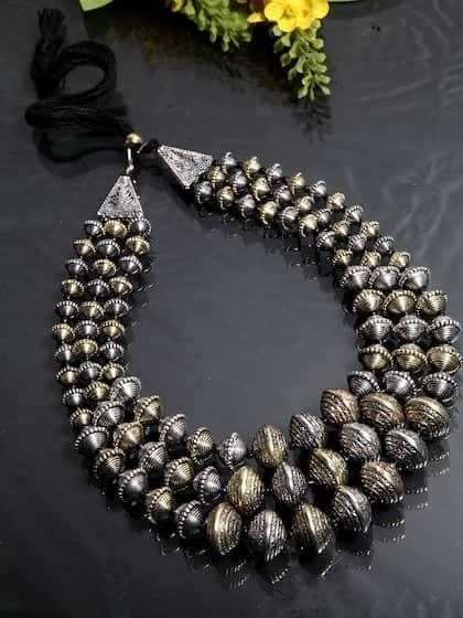 94aaf8114 Necklace - Buy Necklace for men, women & girls Online | Myntra