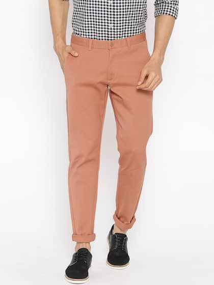 cc68db1a684a0 Men Casual Trousers - Buy Casual Pants for Men in India - Myntra