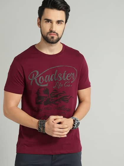 4329cd36 Printed Tshirts - Buy Printed Tshirts Online in India | Myntra