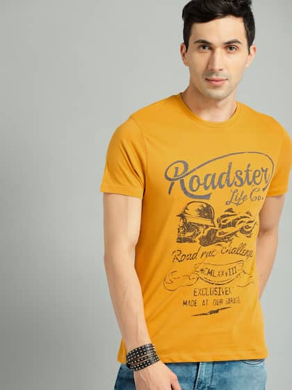 54bab76713da Roadster Tshirts - Buy Roadster T Shirts Online in India | Myntra
