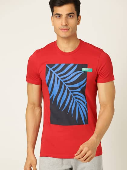 bdc223a828 UCB T-shirt - Buy United Colors of Benetton T-shirts for Men   Women