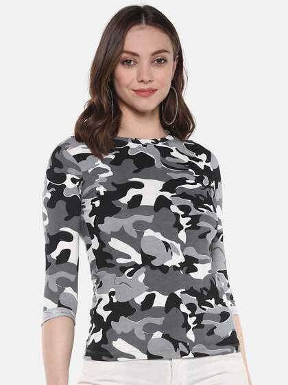 52f931551345 Military Tshirts - Buy Military Tshirt Online in India | Myntra