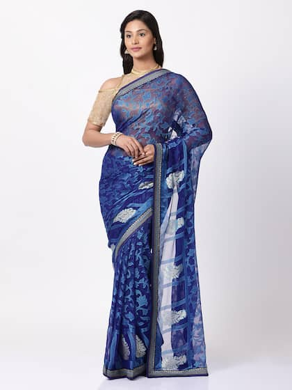 0006d09c319be Georgette Sarees - Buy Georgette Saree Online in India