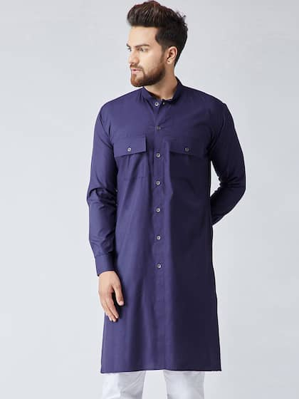 3f3df480bd Men Pathani Kurtas - Buy Pathani Kurtas for Men Online | Myntra