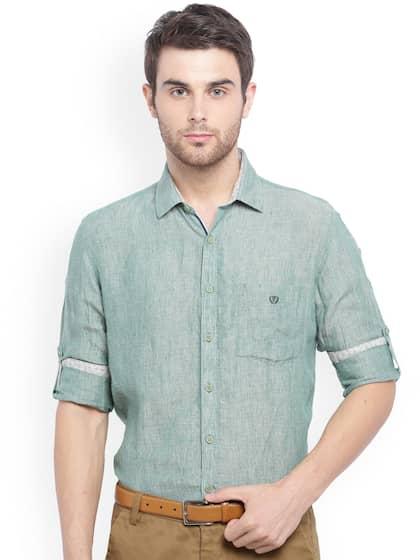 1671014c19f Van Heusen Linen Shirts - Buy Van Heusen Linen Shirts online in India