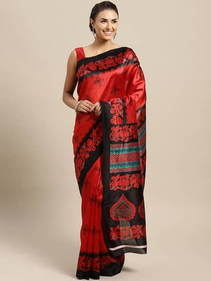 28e26dfdef Silk Sarees - Buy Pure Silk Saree Online in India @ best price| Myntra