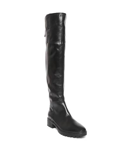 4343affc85be Geox. Women Leather Flat Boots