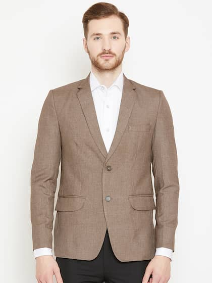 eb5cec4f7a65 Formal In Brown Blazers - Buy Formal In Brown Blazers online in India
