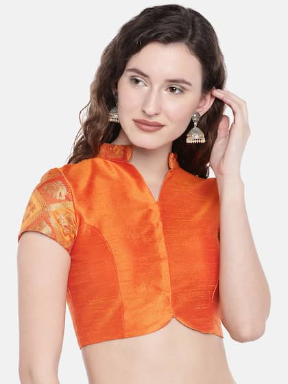 ee8946a08133 Blouses - Shop for Designer Blouse Online in India | Myntra
