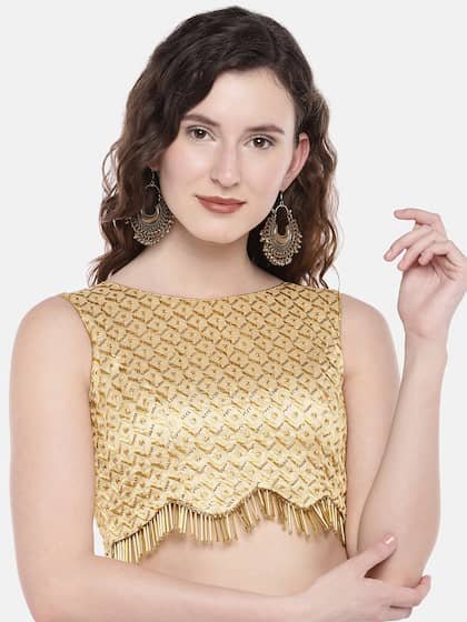68223fa079 Blouses - Shop for Designer Blouse Online in India | Myntra