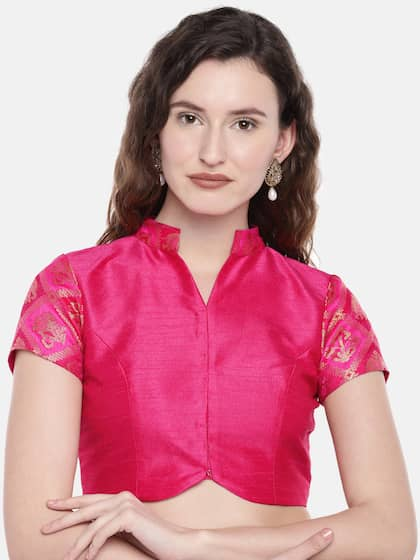 39bb832ff46646 Blouses - Shop for Designer Blouse Online in India | Myntra