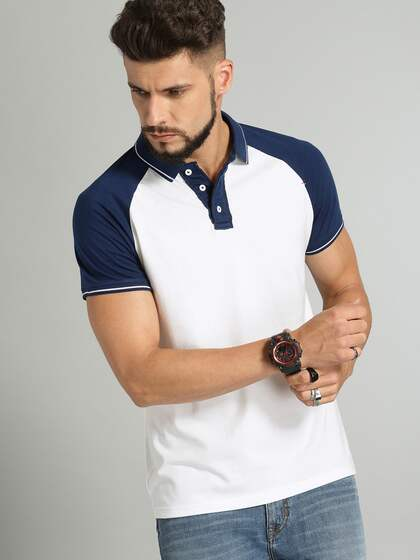 220f9b52 Collar T-shirts - Buy Collared T-shirts Online | Myntra