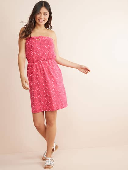 609bb1f48af6 Strapless Dresses - Buy Strapless Dress Online | Myntra